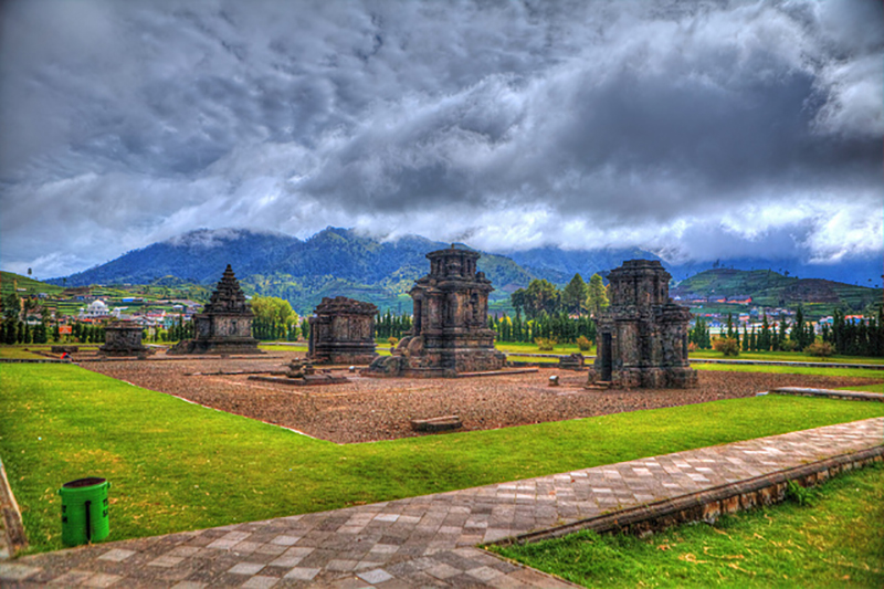 Indonesia - Java - Dieng Plateau